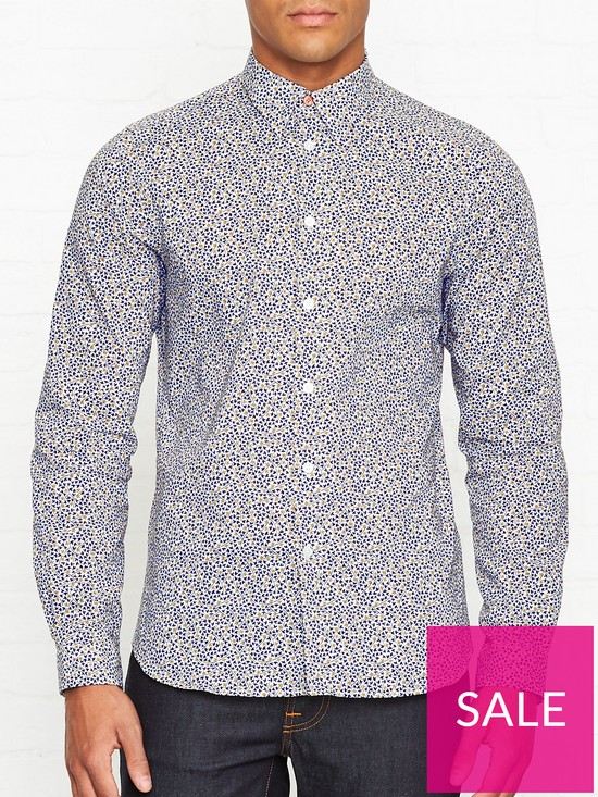 2ae15da03c33 PS PAUL SMITH Ditsy Floral Print Shirt - White | very.co.uk