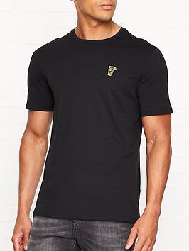 versace-collection-medusa-head-gold-logo-t-shirtnbsp--black