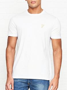versace-collection-medusa-head-gold-logo-t-shirtnbsp--white