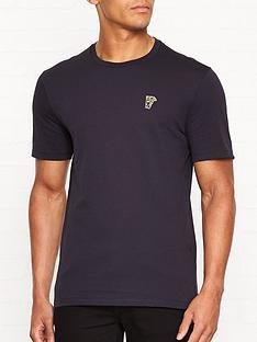 versace-collection-medusa-head-gold-logo-t-shirtnbsp--navy