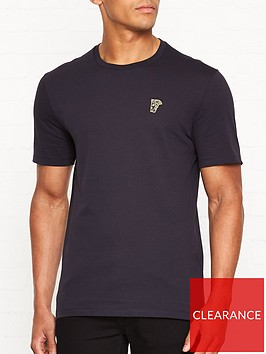 versace-collection-medusa-head-gold-logo-t-shirtnbsp--navy
