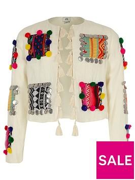 river-island-girls-cream-pom-pom-trophy-jacket