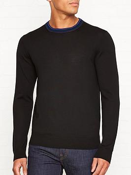 ps-paul-smith-contrast-collar-knitted-merino-wool-jumpernbsp--black