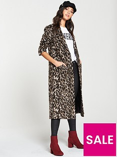 v-by-very-single-breasted-coat-animal-print