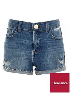 river-island-girls-bella-tape-side-denim-boyfriend-shorts