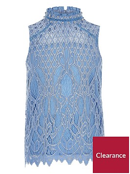 river-island-girls-blue-embellished-lace-top