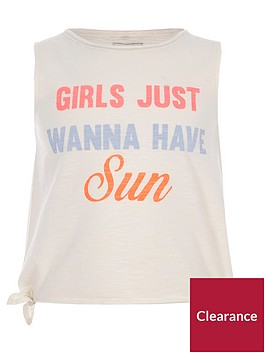 river-island-cream-039wanna-have-sun039-tank-top