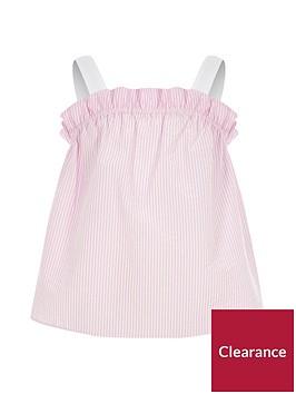 river-island-girls-pink-stripe-frill-cami-top
