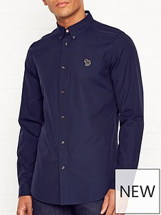 ps-paul-smith-zebra-logo-oxford-shirtnbsp--navy