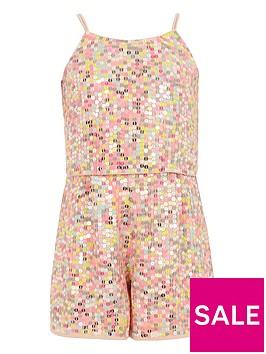 river-island-girls-pink-sequin-embellished-playsuit