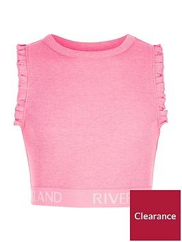river-island-girls-pink-rib-ri-hem-frill-sleeve-crop-top