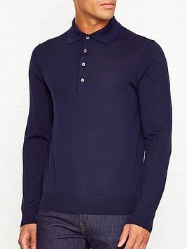 ps-paul-smith-trim-detail-knitted-merino-wool-polo-shirtnbsp--navy