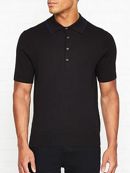 ps-paul-smith-knitted-contrast-trim-polo-shirt-black