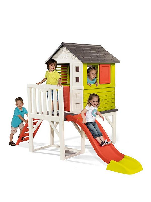 My House On Stilts With Slide