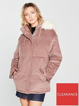 v-by-very-cord-parka-coat-pinknbsp