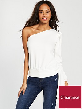 v-by-very-one-shoulder-crepe-tie-top-whitenbsp