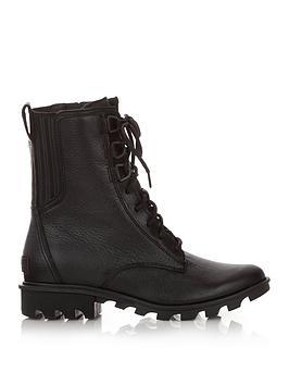 sorel-phoenix-lace-boots-black