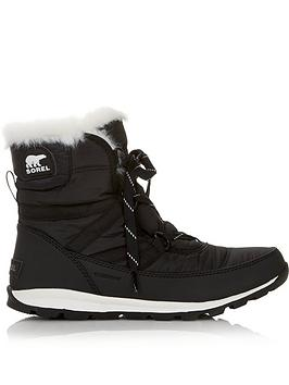 sorel-whitney-short-lace-boots-black
