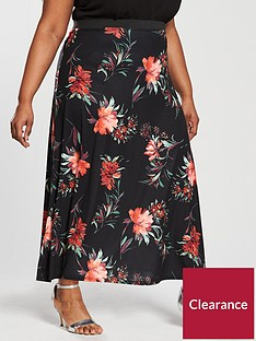 v-by-very-curve-printed-maxi-skirt
