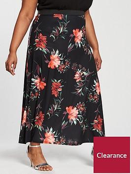 v-by-very-curve-printed-maxi-skirt