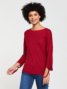 v-by-very-long-sleeve-knot-tshirt
