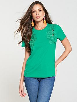 v-by-very-lace-trim-t-shirt-apple-green