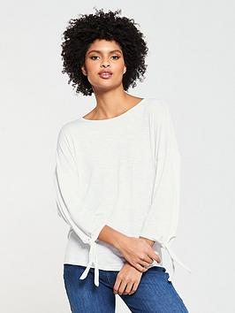 v-by-very-long-sleeve-knot-t-shirt-white