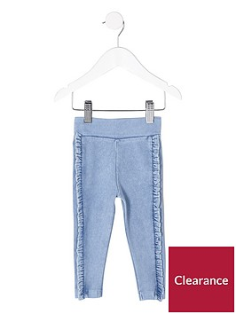 river-island-mini-girls-blue-ruffle-denim-look-leggings