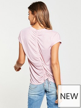 v-by-very-drawstring-back-top-blush