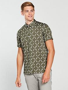 ted-baker-ss-diamond-geo-print-shirt