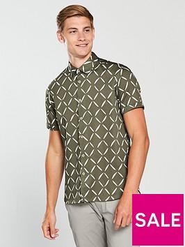 ted-baker-ss-diamond-geo-print-shirt