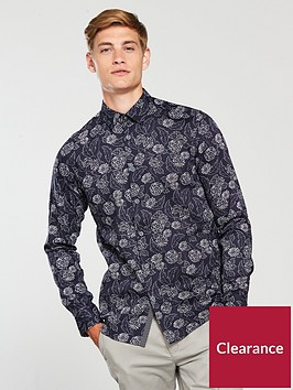 ted-baker-ss-dotted-floral-print-shirt
