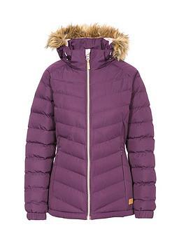 trespass-nadinanbspfaux-fur-trim-parka-purplenbsp