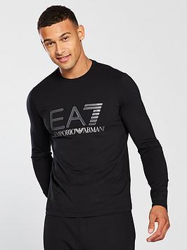 emporio-armani-ea7-logo-ls-t-shirt