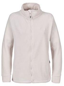 Trespass Clarice Full Zip Fleece - Off White