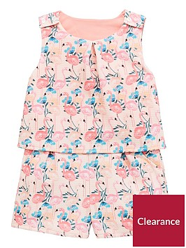 mini-v-by-very-toddler-girls-textured-flamingo-playsuitnbsp--multi