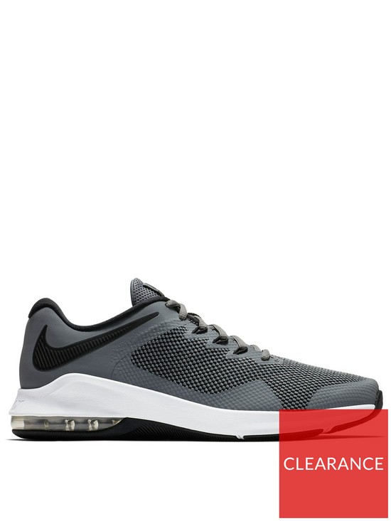 6d2453189389 Nike Air Max Alpha Trainers - Grey Black