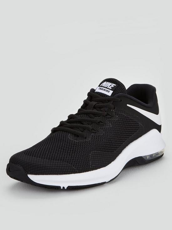 4a7048e03e Nike Air Max Alpha Trainers - Black   very.co.uk