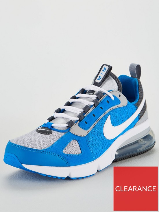 low priced 1eaf4 d45f5 Nike Air Max 270 Futura Trainers - Blue   very.co.uk