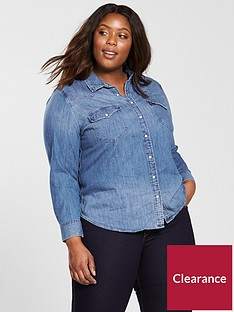 levis-plus-western-shirt-love-bluenbsp