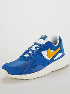63707e859e3 Nike Pantheos Trainers - Blue Yellow