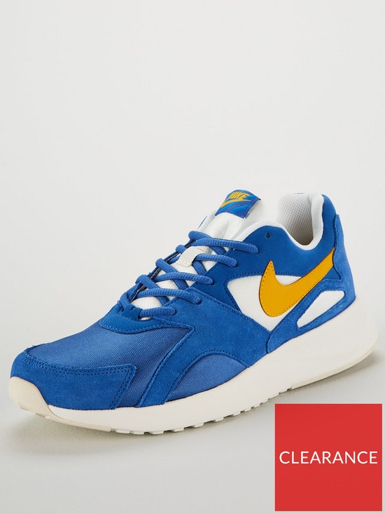 dbbe48e5fdff8 Nike Pantheos Trainers - Blue/Yellow | very.co.uk