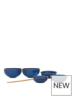 denby-imperial-blue-7-piece-asian-dining-set