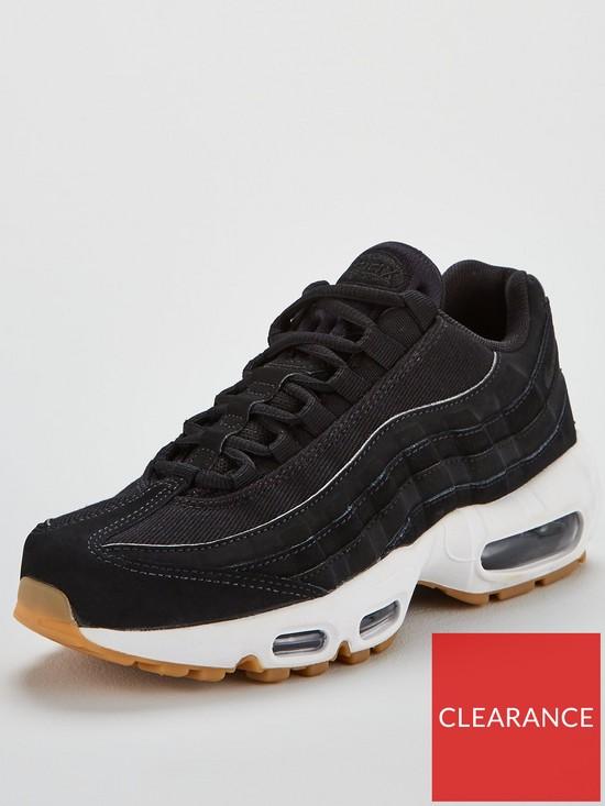 sports shoes 08cf2 c8b5f Nike Air Max 95 - Black White