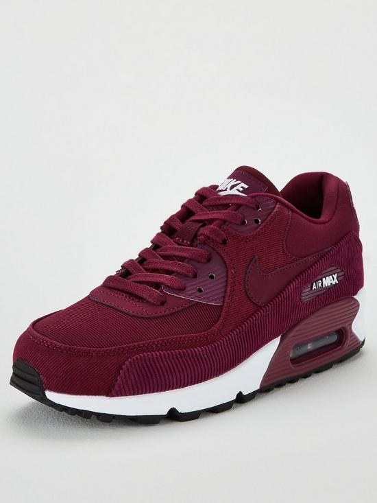 675a09c3b22 ... sale nike air max 90 leather burgundy very 9f587 b08ed