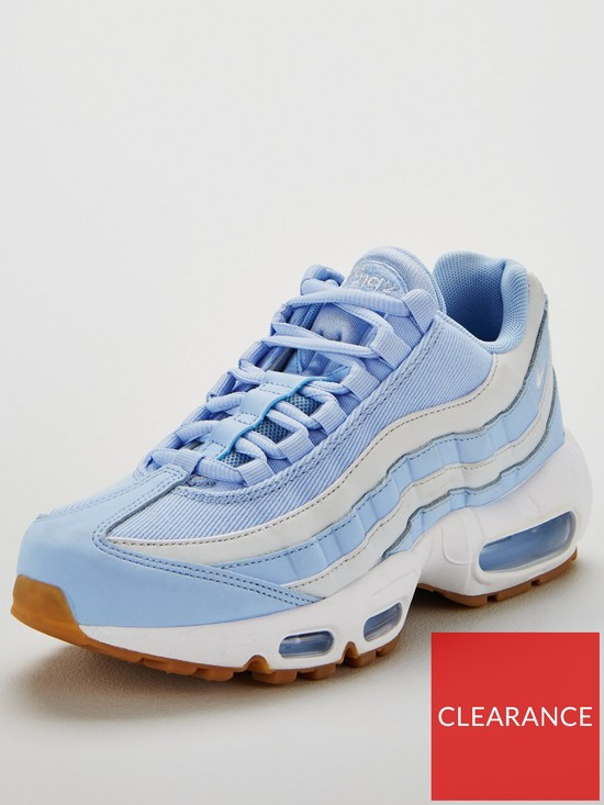 6d0ca6f2d226 Nike Air Max 95 - Pale Blue White