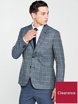 tommy-hilfiger-standalone-check-blazer-navy-check