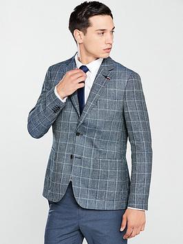 tommy-hilfiger-standalone-check-blazer