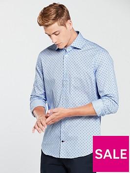 tommy-hilfiger-dot-print-classic-shirt