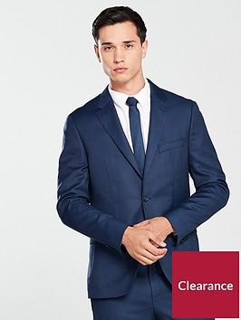 tommy-hilfiger-textured-suit-blazer-blue